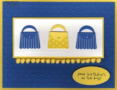 Birthday bakery cupcake purses watermark