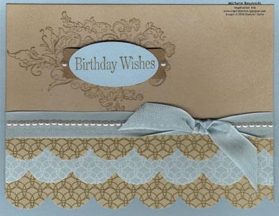 Elizabeth elegant scallops birthday watermark