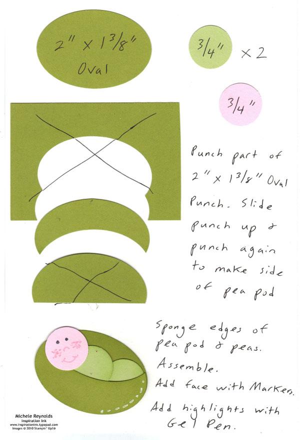 Pea pod baby watermark