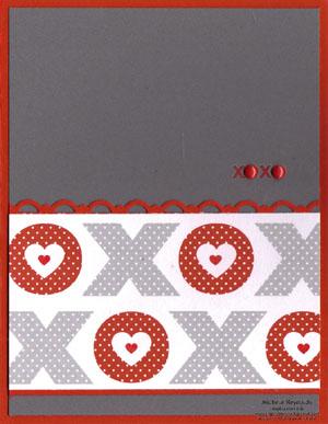 Love impressions simple xoxo watermark