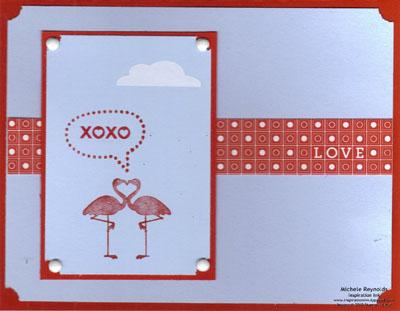 Valentine defined flamingo love talk watermark