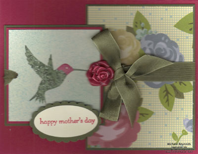 Elements of style hummingbird mother's day watermark