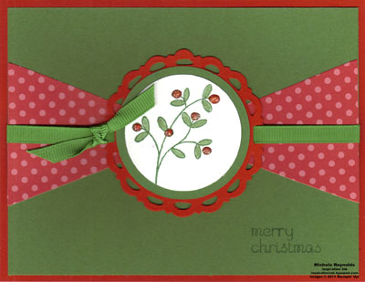 Easy events pennant medallion christmas watermark