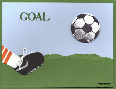 Goal soccer cleat watermark