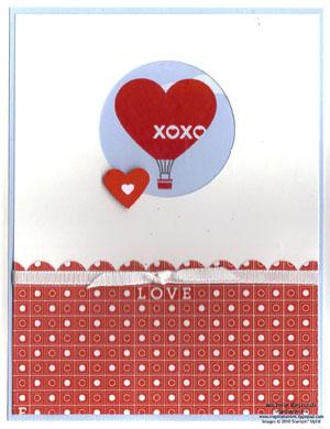 Love impressions balloon circle watermark
