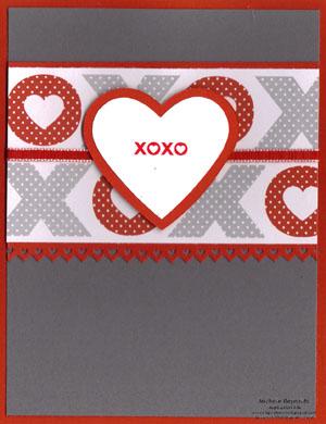 Love impressions big heart xoxo watermark