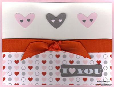 Love impressions heart trio watermark