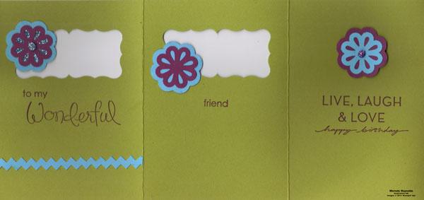 Wonderful favorites trifold flower friend watermark