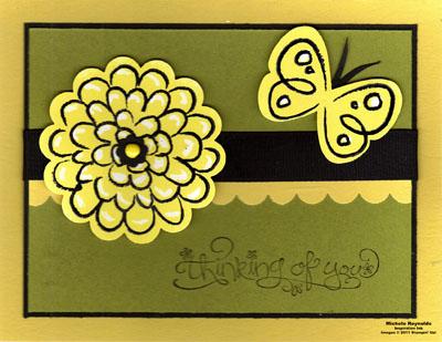 Flower fest daffodil crayon resist watermark