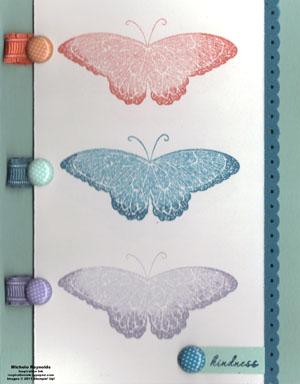Strength & hope in color butterflies watermark