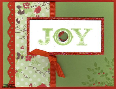 Welcome christmas joy shaker watermark