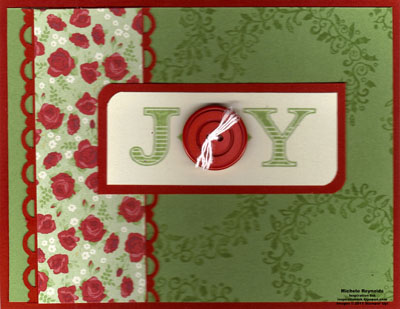 Welcome christmas button joy watermark