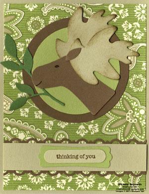 Teeny tiny wishes spring moose watermark