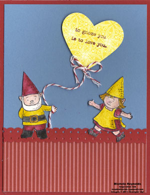 Gnome sweet gnome valentine balloon watermark