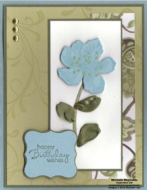 Everything eleanor ribbon leaf flower watermark