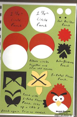 Angry bird red bird watermark