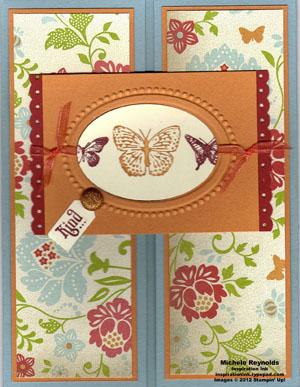 Kindness matters gate fold butterflies watermark