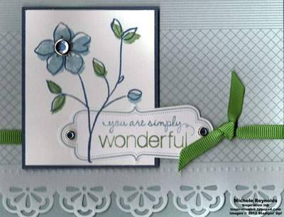 Flower fancy simply wonderful watermark