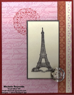 Artistic etchings french lace watermark