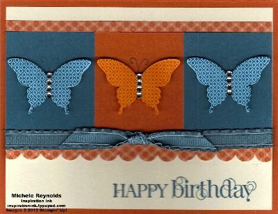 Papillon potpourri butterfly colorblocks watermark