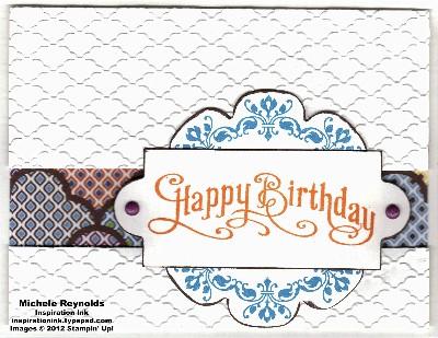 Perfectly penned bazaar birthday watermark