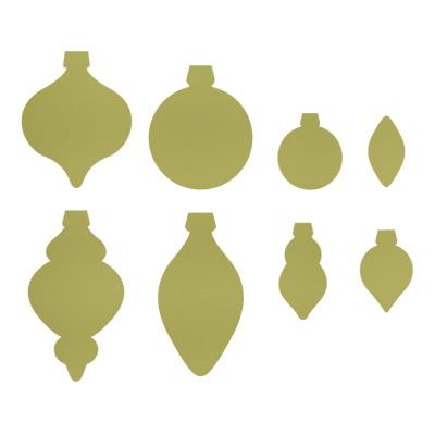 Holiday ornaments framelits
