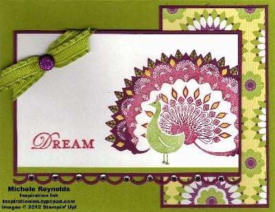 World treasures peacock dreams watermark