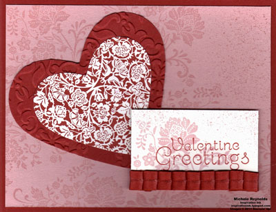 Fresh vintage twitterpated valentine watermark