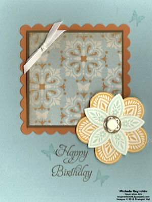 Triple treat flower butterfly birthday flower watermark