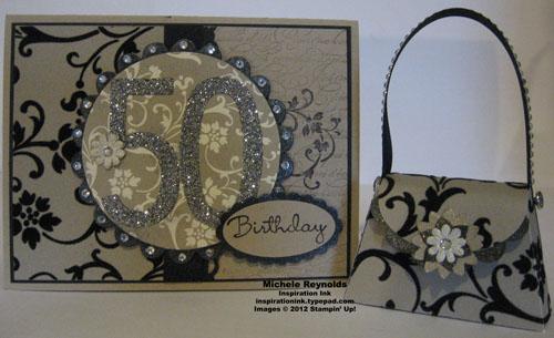 50 birthday glitz card and purse watermark