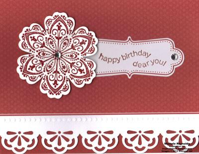 Mixed bunch birthday elegance watermark