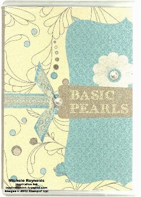 Pearls case watermark