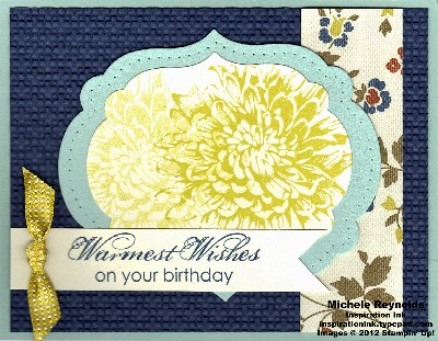 Blooming with kindness label framed blooms watermark