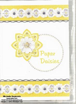 Paper daisies case watermark