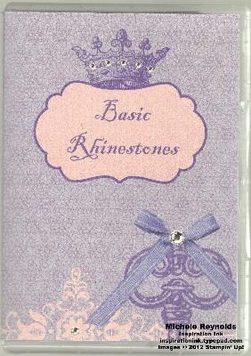 Rhinestones case watermark