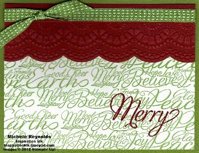 Snowflake soiree merry good cheer watermark