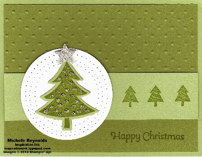 Scentsational season dotted tree watermark