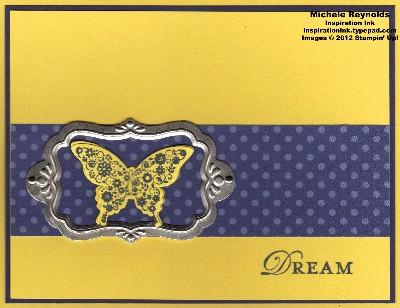 Papillon potpourri framed butterfly dream watermark