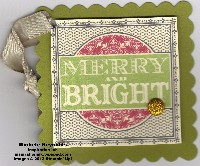 Merry & bright tag watermark