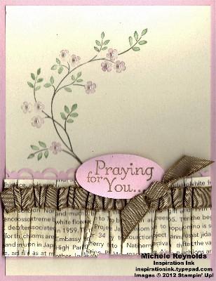 Thoughts & prayers ruffled prayers watermark