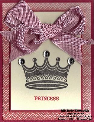 You rule princess big bow watermark