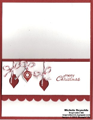 Merry minis simple ornaments watermark