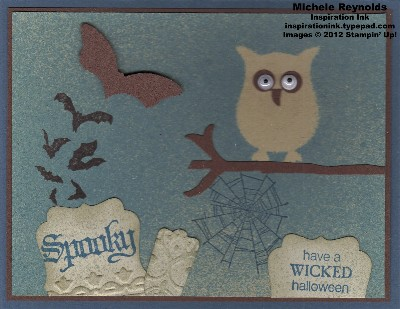 Wicked cool ghostly owl watermark