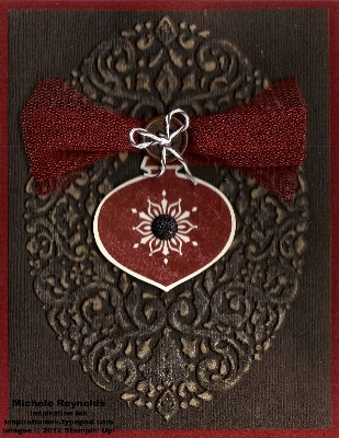 Delightful decorations framed ornament watermark