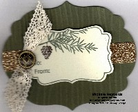 Tags til christmas pinecone label tag watermark