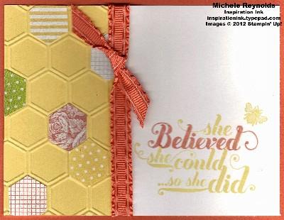 Feel goods honeycomb belief watermark