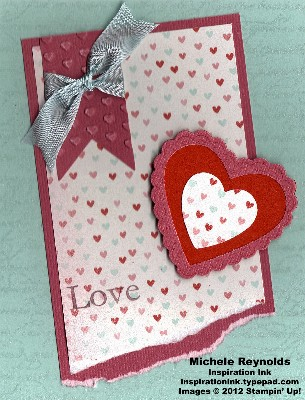 Hearts a flutter love hearts layers watermark
