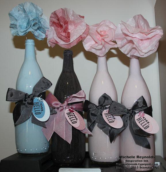 Oh hello glass bottle vases watermark