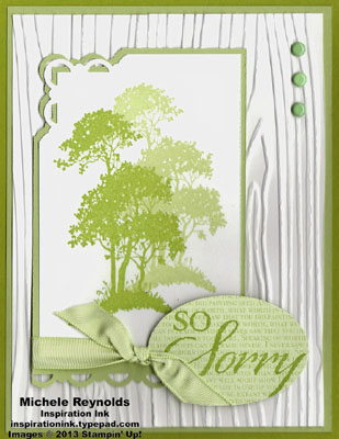Serene silhouettes sorrow woods watermark
