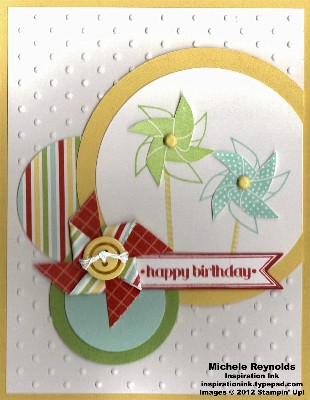 Sweets for the sweet pinwheel circles birthday watermark